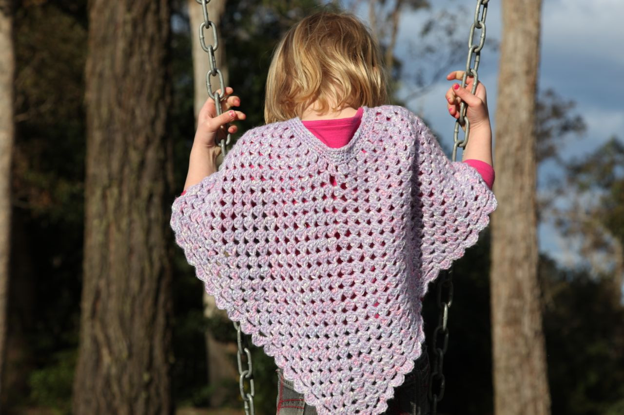 Crochet Child Poncho Best Of Kids Crochet Poncho Of Crochet Child Poncho Fresh Easy Poncho to Crochet with Puff Stitch Rows