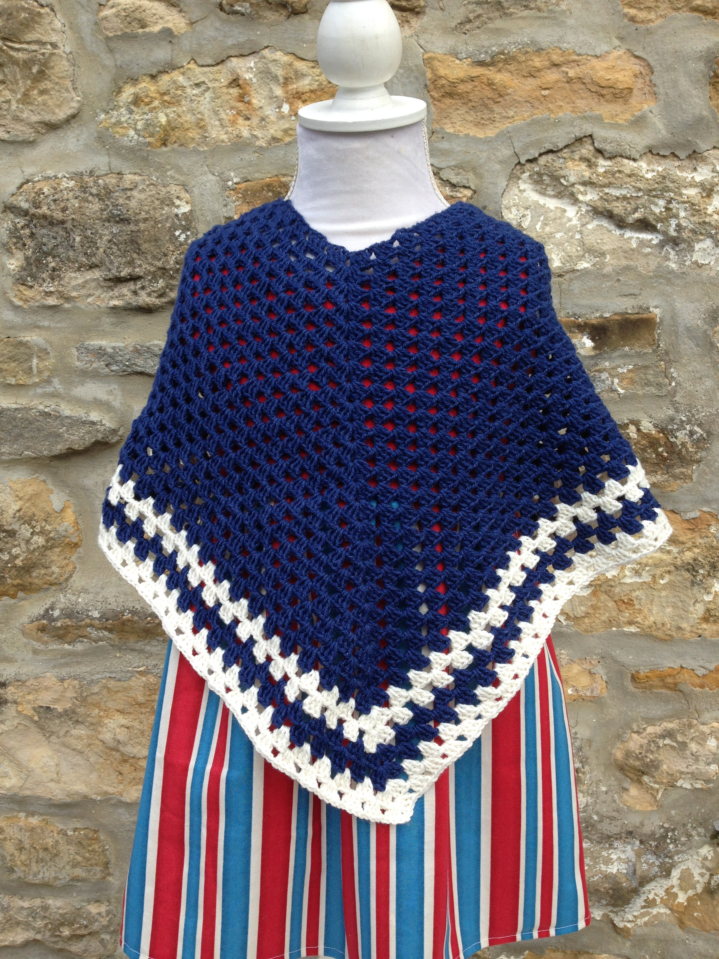 Crochet Child Poncho Inspirational Free Child S Crochet Poncho Pattern Of Crochet Child Poncho Fresh Easy Poncho to Crochet with Puff Stitch Rows