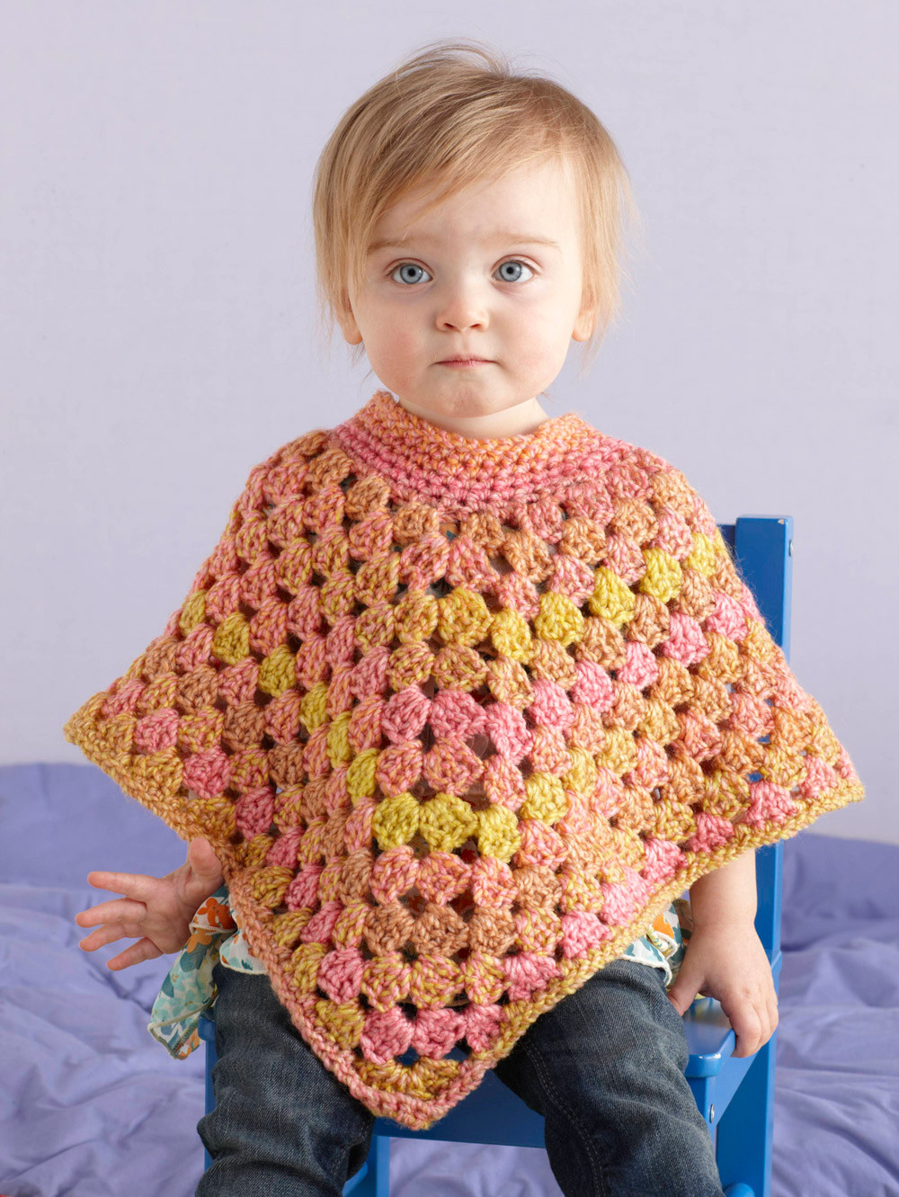 Crochet Child Poncho Inspirational How to Crochet A Child S Poncho Crochet and Knit Of Crochet Child Poncho Fresh Easy Poncho to Crochet with Puff Stitch Rows