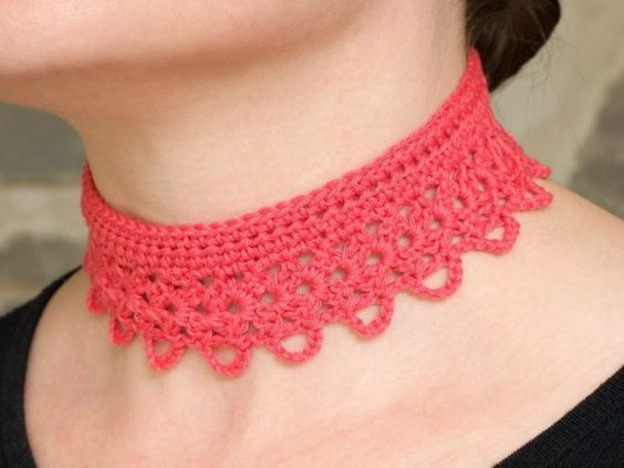 Crochet Chokers Beautiful Pinterest • the World's Catalog Of Ideas Of Awesome 49 Photos Crochet Chokers