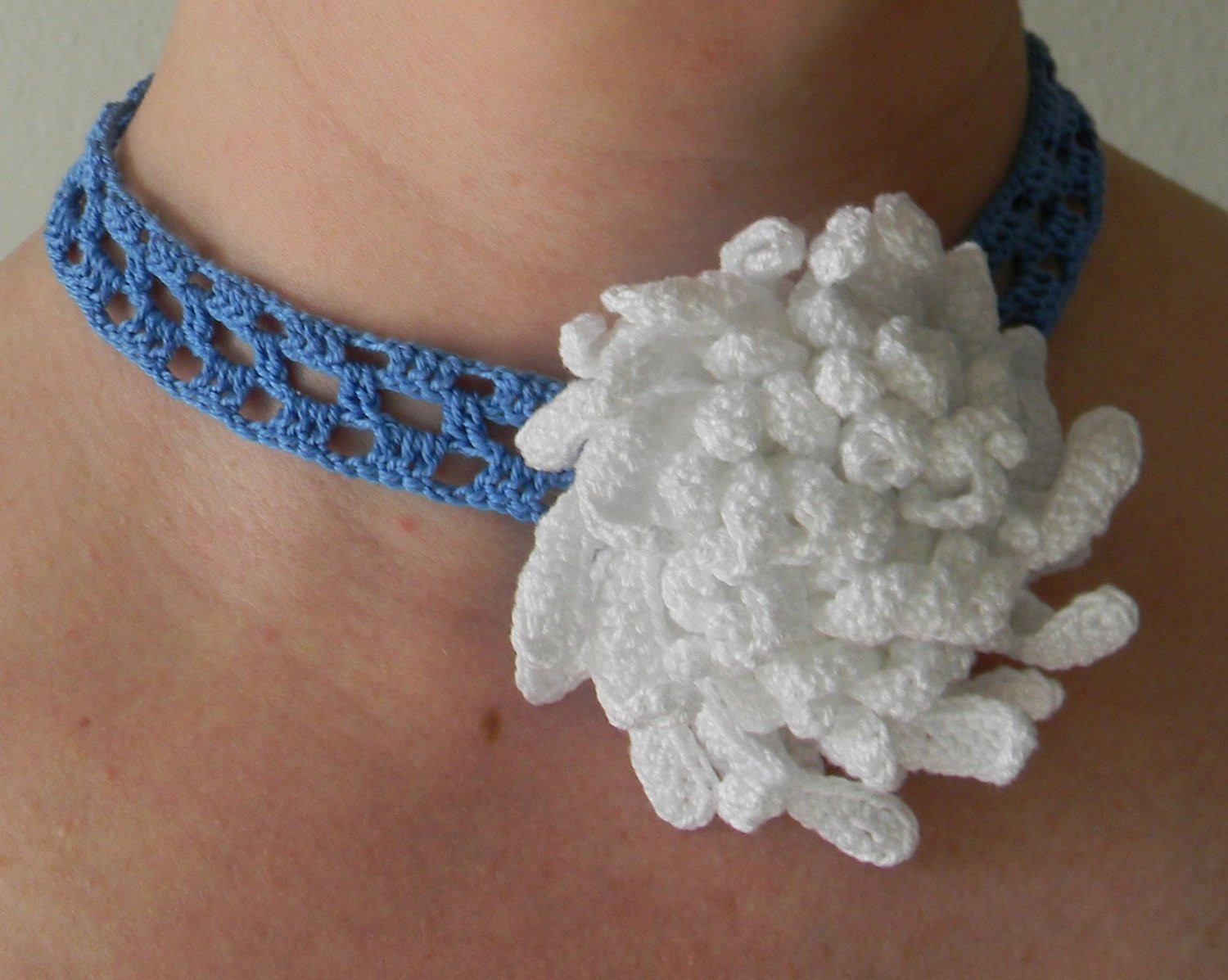 Crochet Chokers Fresh Crochet Pattern Chrysanthemum Necklace Crochet Necklace Of Awesome 49 Photos Crochet Chokers