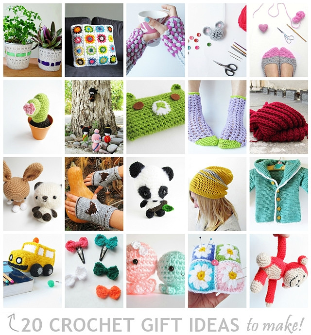 Crochet Christmas Gifts Awesome 20 Crochet Gift Ideas to Make Of Innovative 44 Images Crochet Christmas Gifts