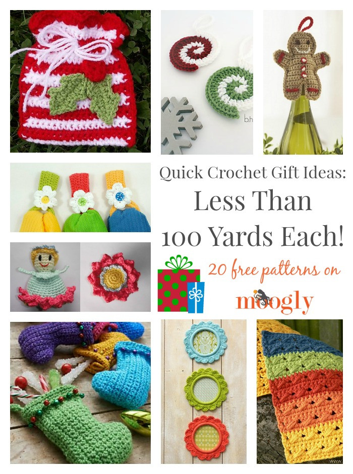 Crochet Christmas Gifts Luxury Quick Crochet Gift Ideas Less Than 100 Yards Each Of Innovative 44 Images Crochet Christmas Gifts