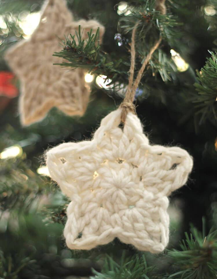 Crochet Christmas ornaments Best Of Crochet Star ornaments – Free Pattern Of Fresh 50 Pictures Crochet Christmas ornaments