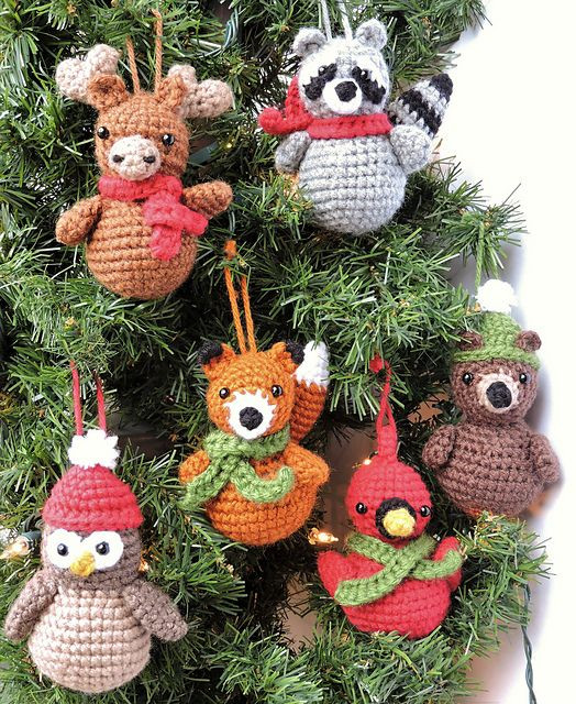 Crochet Christmas ornaments New 429 Best Crochet ornaments Images On Pinterest Of Fresh 50 Pictures Crochet Christmas ornaments