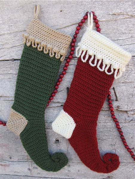 Crochet Christmas Stocking Pattern Awesome Crochet Instructions & Patterns for Crocheted Slippers Of Top 46 Models Crochet Christmas Stocking Pattern