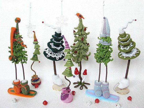Crochet Christmas Tree Elegant Christmas Craft Ideas Funny and Cute Crochet Christmas Of Amazing 42 Ideas Crochet Christmas Tree