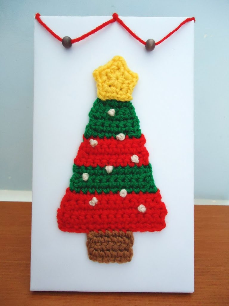 Stitch of Love Crochet Christmas Ornaments
