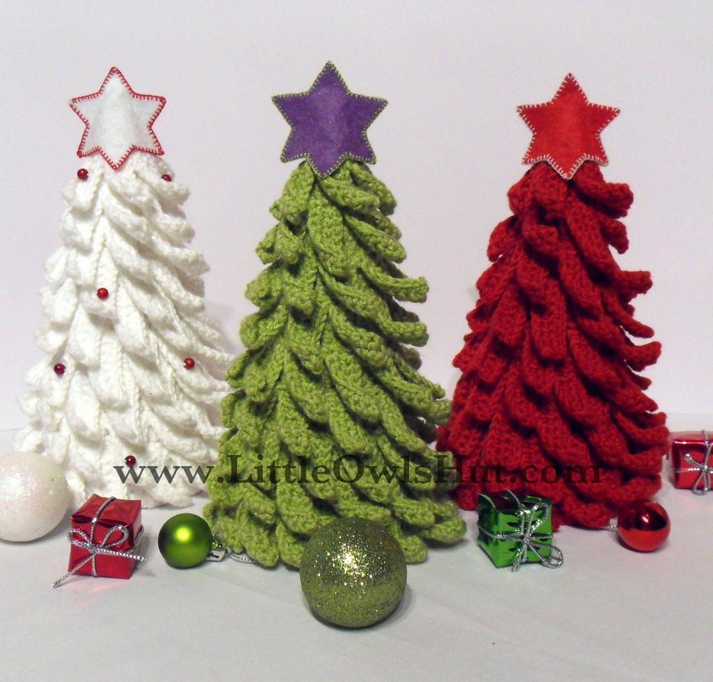 Crochet Christmas Tree New You Have to See Christmas Tree Crochet by Littleowlshut Of Amazing 42 Ideas Crochet Christmas Tree