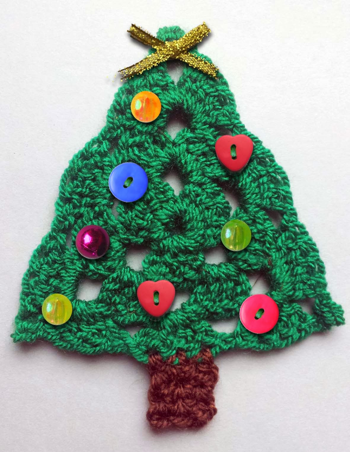 Crochet Christmas Tree Unique Thredhed the Cheat S Guide to Christmas Crochet Bunting Of Amazing 42 Ideas Crochet Christmas Tree