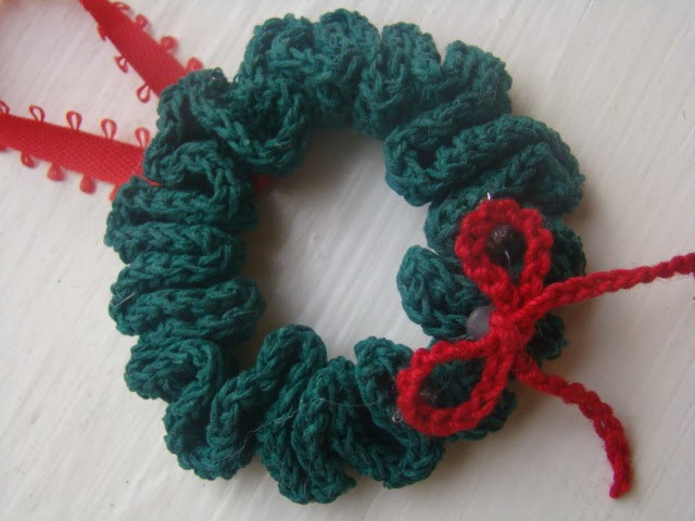 Crochet Christmas Wreath Awesome Crafts by Starlight Crochet Christmas Wreath ornament Of Lovely 43 Photos Crochet Christmas Wreath