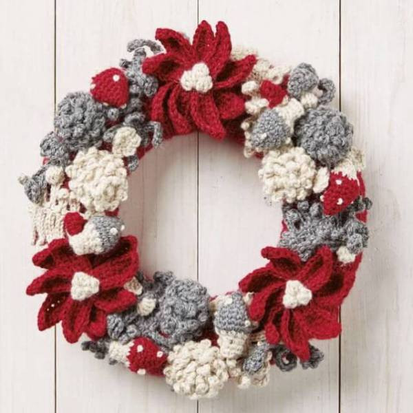 Crochet Christmas Wreath Elegant Simply Crochet issue 38 Christmas Gnomes and Woodland Of Lovely 43 Photos Crochet Christmas Wreath