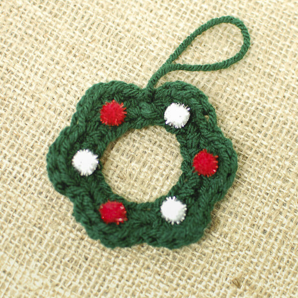 Crochet Christmas Wreath Inspirational Wreath Crochet Pattern Petals to Picots Of Lovely 43 Photos Crochet Christmas Wreath