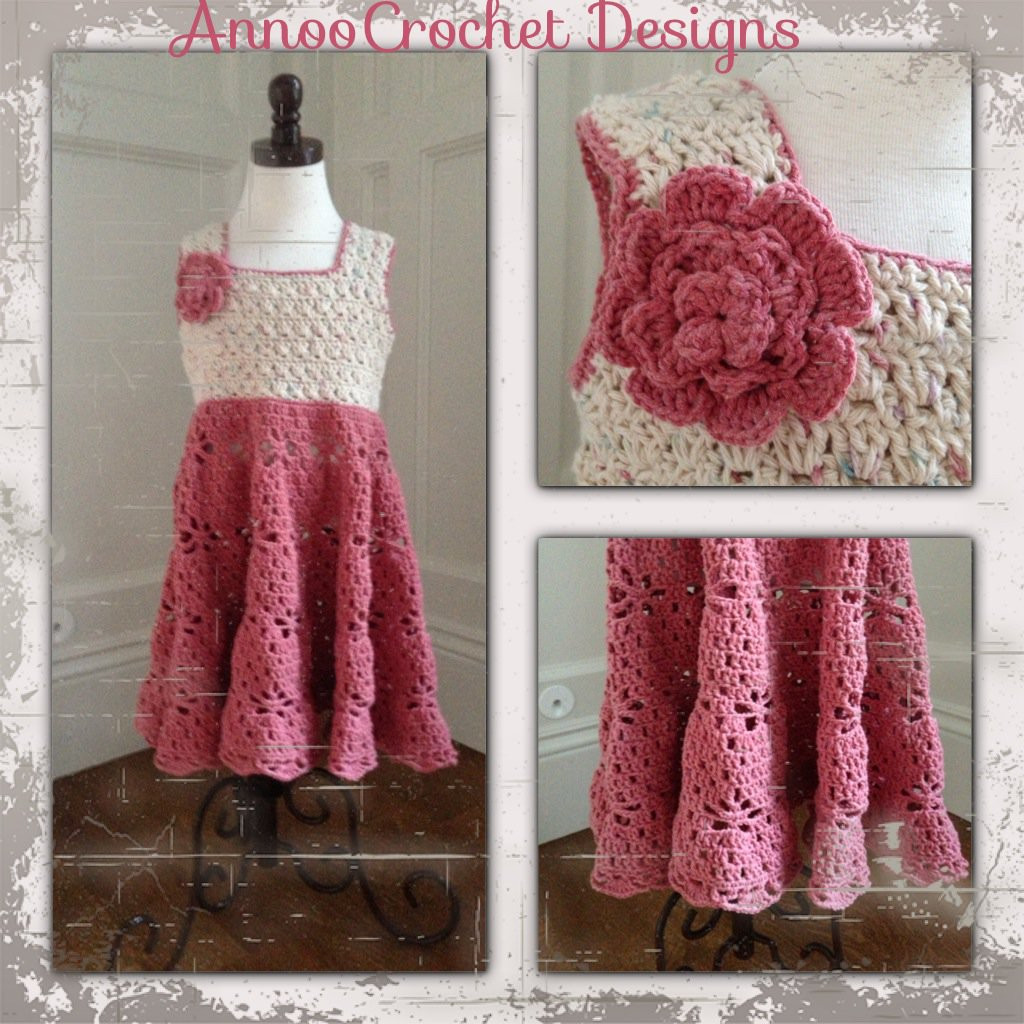 20 Crochet Girl Dress with Free Pattern Page 2 of 4