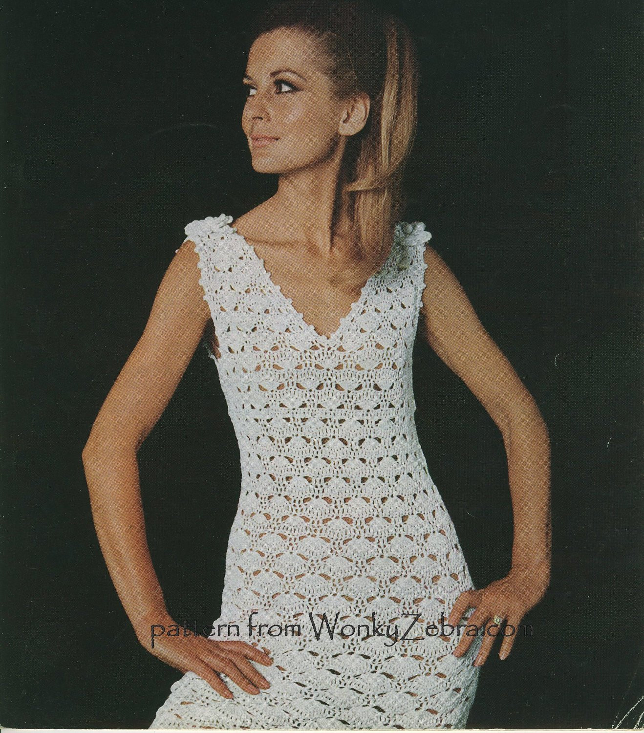 Crochet Clothing Unique Vintage Crochet Dress and Corsage Pattern Pdf 441 From Of Awesome 49 Images Crochet Clothing