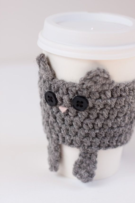 Crochet Coffee Cup Cozy Awesome 1000 Images About Project Mug Cozy On Pinterest Of Crochet Coffee Cup Cozy Luxury Pdf Crochet Pattern Coffee Mug Cozy with button by
