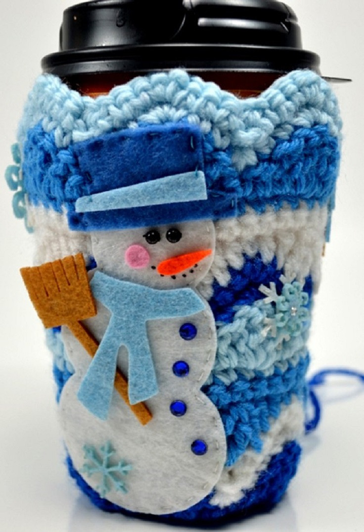 17 Lovable Mug Cozy DIYs for All with Cold Hands but Warm
