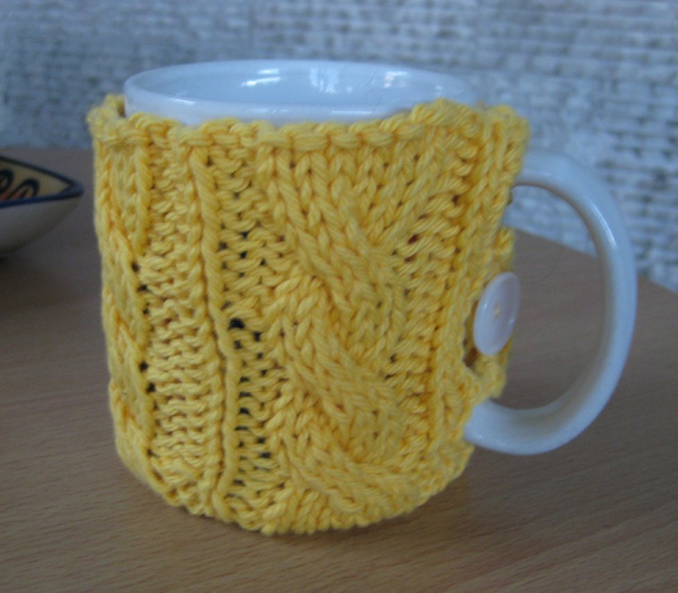 Crochet and Other Stuff Crochet a Mug Cozy free pattern