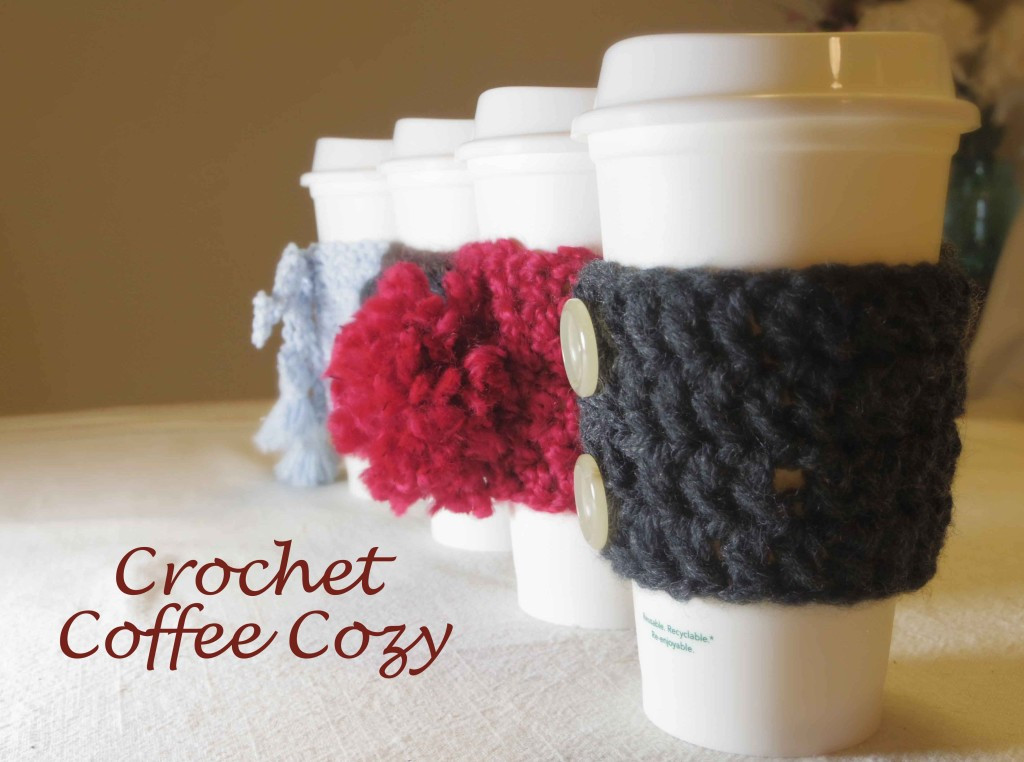 Crochet Coffee Cup Cozy Beautiful Crochet Coffee Cozy the Bud socialitethe Bud socialite Of Crochet Coffee Cup Cozy Inspirational 35 Easy Crochet Patterns