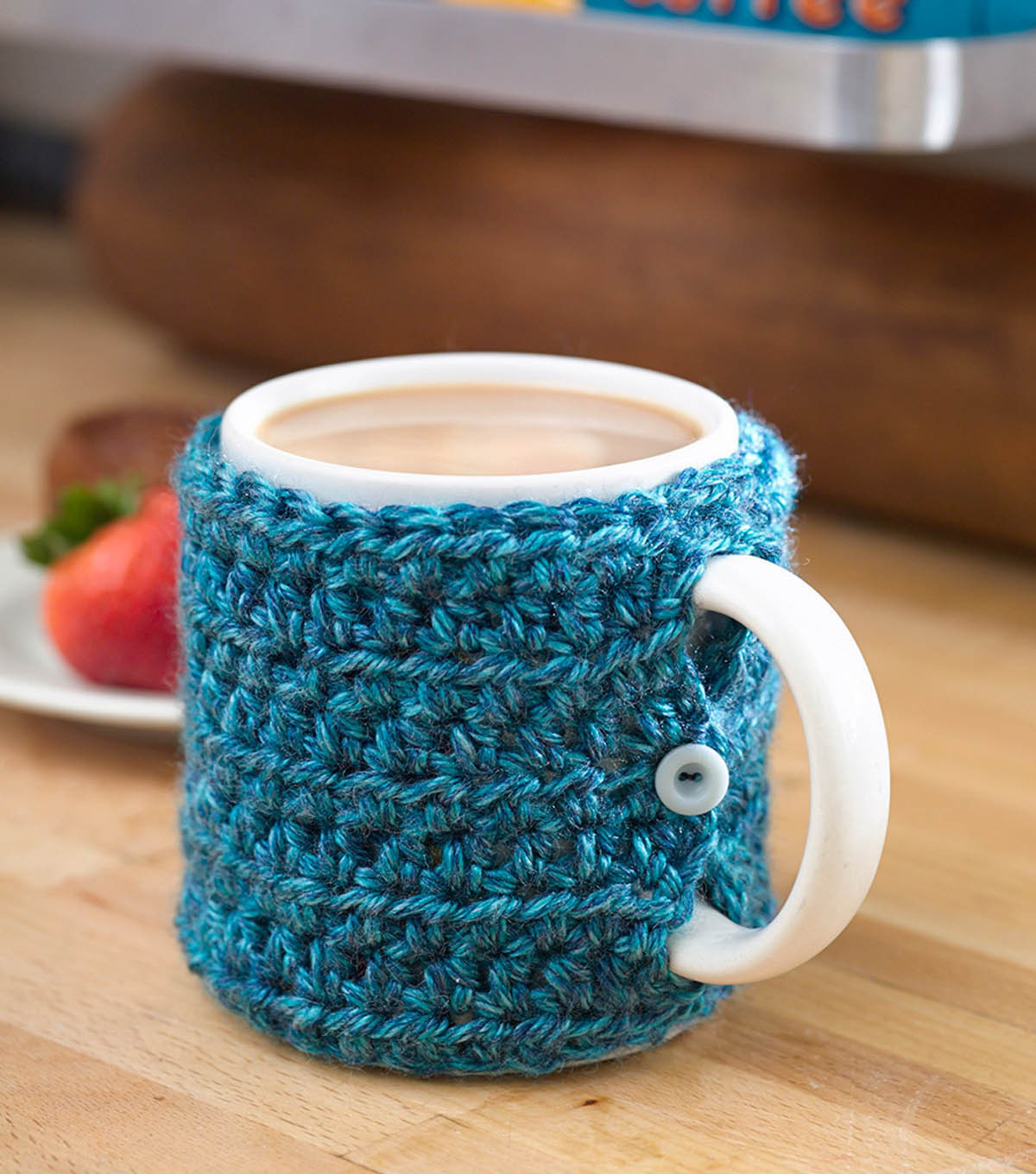 Crochet Coffee Cup Cozy Best Of Craftdrawer Crafts Free Easy to Crochet Mug Cozy Patterns Of Crochet Coffee Cup Cozy Luxury Pdf Crochet Pattern Coffee Mug Cozy with button by
