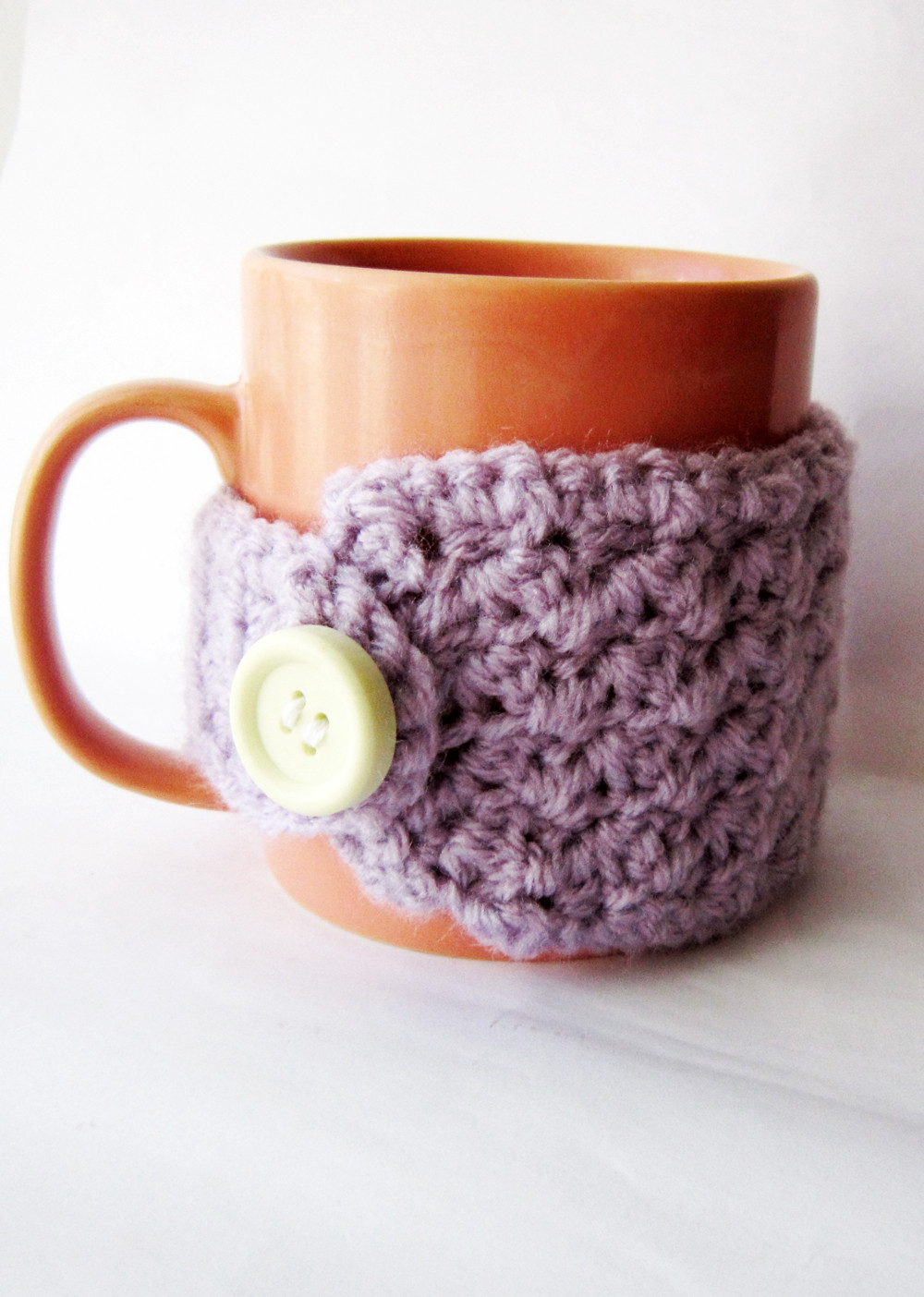 Crochet Coffee Cup Cozy Inspirational Easy Crochet Mug Cozy Free Pattern Akamatra Of Crochet Coffee Cup Cozy Luxury Pdf Crochet Pattern Coffee Mug Cozy with button by