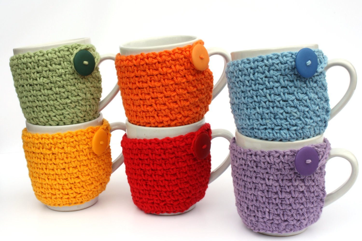 Crochet Coffee Cup Cozy Lovely Coffee Cup Cozy Crochet Cup Sleeve You Pick the by Sweetbriers Of Crochet Coffee Cup Cozy Luxury Happy Holidays Handmade Gift Idea Crochet Heart Coffee