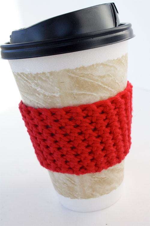 Crochet Coffee Cup Cozy Luxury How to Make A Crochet Coffee Cozy Tutorial Giveaway Of Crochet Coffee Cup Cozy Best Of Craftdrawer Crafts Free Easy to Crochet Mug Cozy Patterns