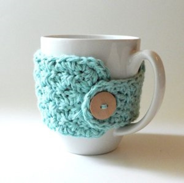 Crochet Coffee Cup Cozy Unique 10 Free Crochet Patterns for A Coffee Cozy…or Two Of Crochet Coffee Cup Cozy Luxury Pdf Crochet Pattern Coffee Mug Cozy with button by