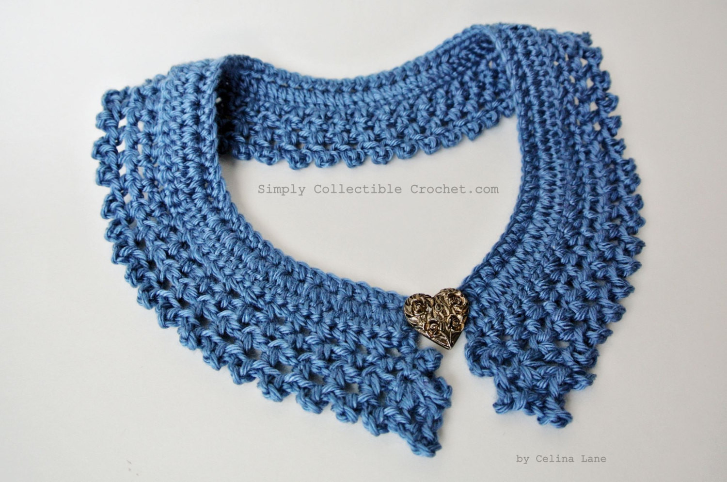 Crochet Collar Pattern Lovely Crochet Pattern Collar Tutorial and Diagram Included Of Top 40 Pics Crochet Collar Pattern