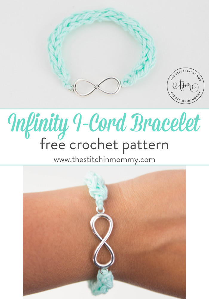 Crochet Cording Unique Infinity I Cord Bracelet Free Crochet Pattern the Of Marvelous 43 Images Crochet Cording