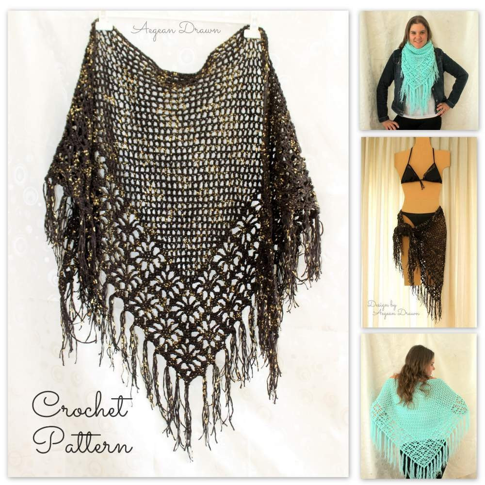 Crochet Cover Up Inspirational Crochet Shawl Pattern Crochet Cover Up Pattern Crochet Of Adorable 40 Pictures Crochet Cover Up