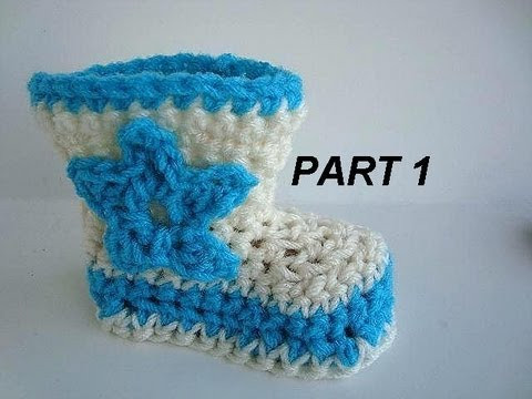 Crochet Cowboy Boots Awesome Crochet Cowboy Boots Part 1 3 to 6 Months How to Of Marvelous 49 Pictures Crochet Cowboy Boots
