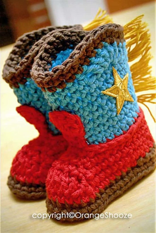 Crochet Cowboy Boots Awesome Crochet Cowboy Outfit Pattern Free Video Tutorial Of Marvelous 49 Pictures Crochet Cowboy Boots