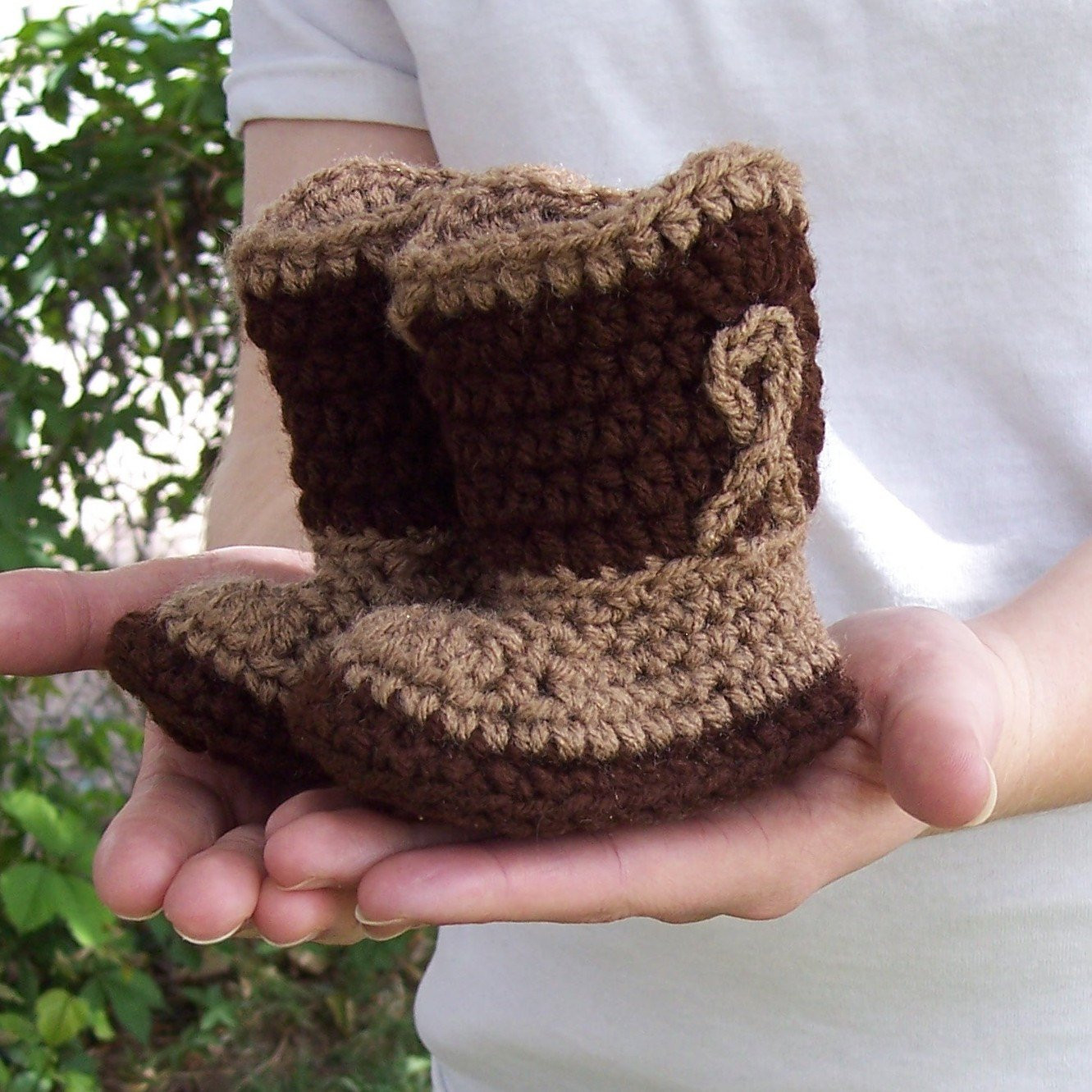 Crochet Cowboy Boots Baby Cowboy Booties 0 by