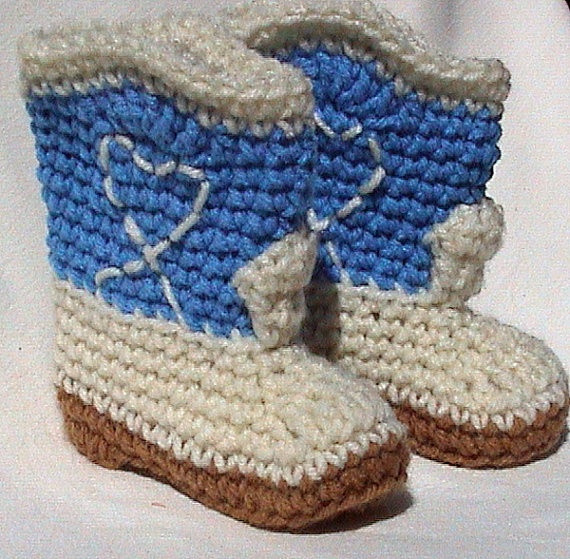 Crochet Cowboy Boots Elegant Cowboy Boots Crocheted Baby Booties Crochet Of Marvelous 49 Pictures Crochet Cowboy Boots