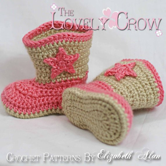 Crochet Cowboy Boots Fresh Crochet Pattern Cowboy Boots for Baby Boot Scoot N Boots Of Marvelous 49 Pictures Crochet Cowboy Boots