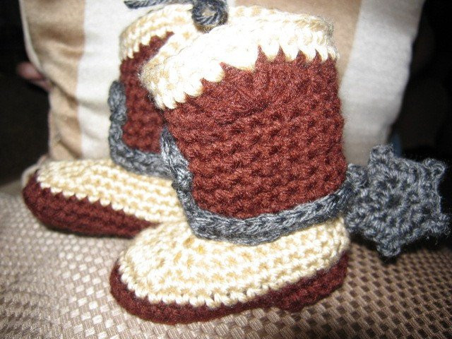 Crochet Cowboy Boots Fresh Hand Crocheted Baby Cowboy or Cowgirl Boots with Spurs Of Marvelous 49 Pictures Crochet Cowboy Boots