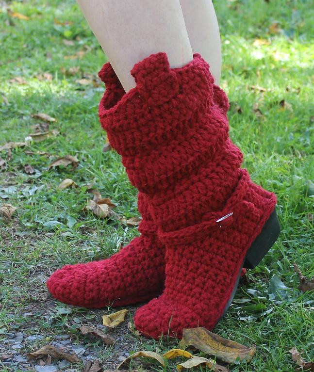 Crochet Cowboy Boots Inspirational Crochet Boots Pattern Cowboy Boots 3 by Willow Lane Of Marvelous 49 Pictures Crochet Cowboy Boots