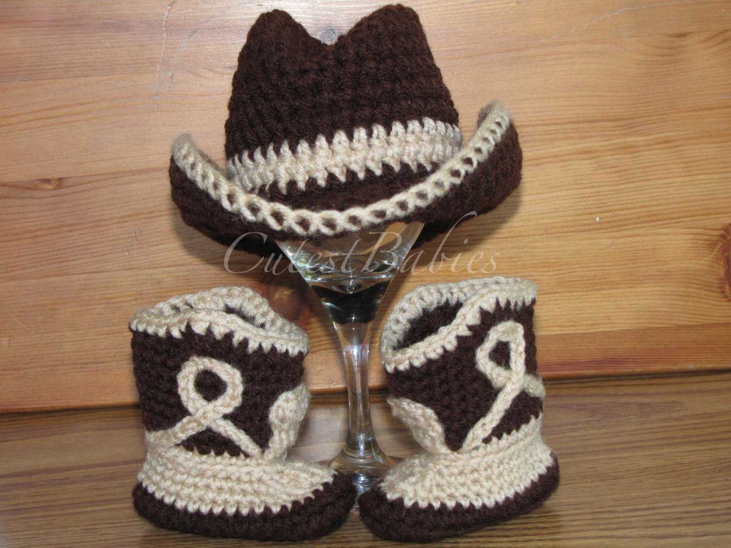 Crochet Cowboy Boots Lovely Newborn Baby Crochet Cowboy Set Hat & Boots Prop Of Marvelous 49 Pictures Crochet Cowboy Boots
