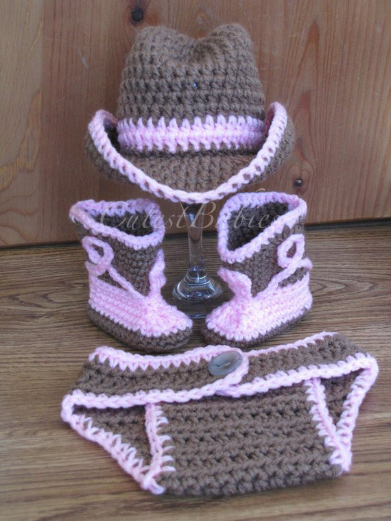 Crochet Cowboy Boots New Newborn Baby Crochet Cowboy Cowgirl Hat Boots & by Of Marvelous 49 Pictures Crochet Cowboy Boots