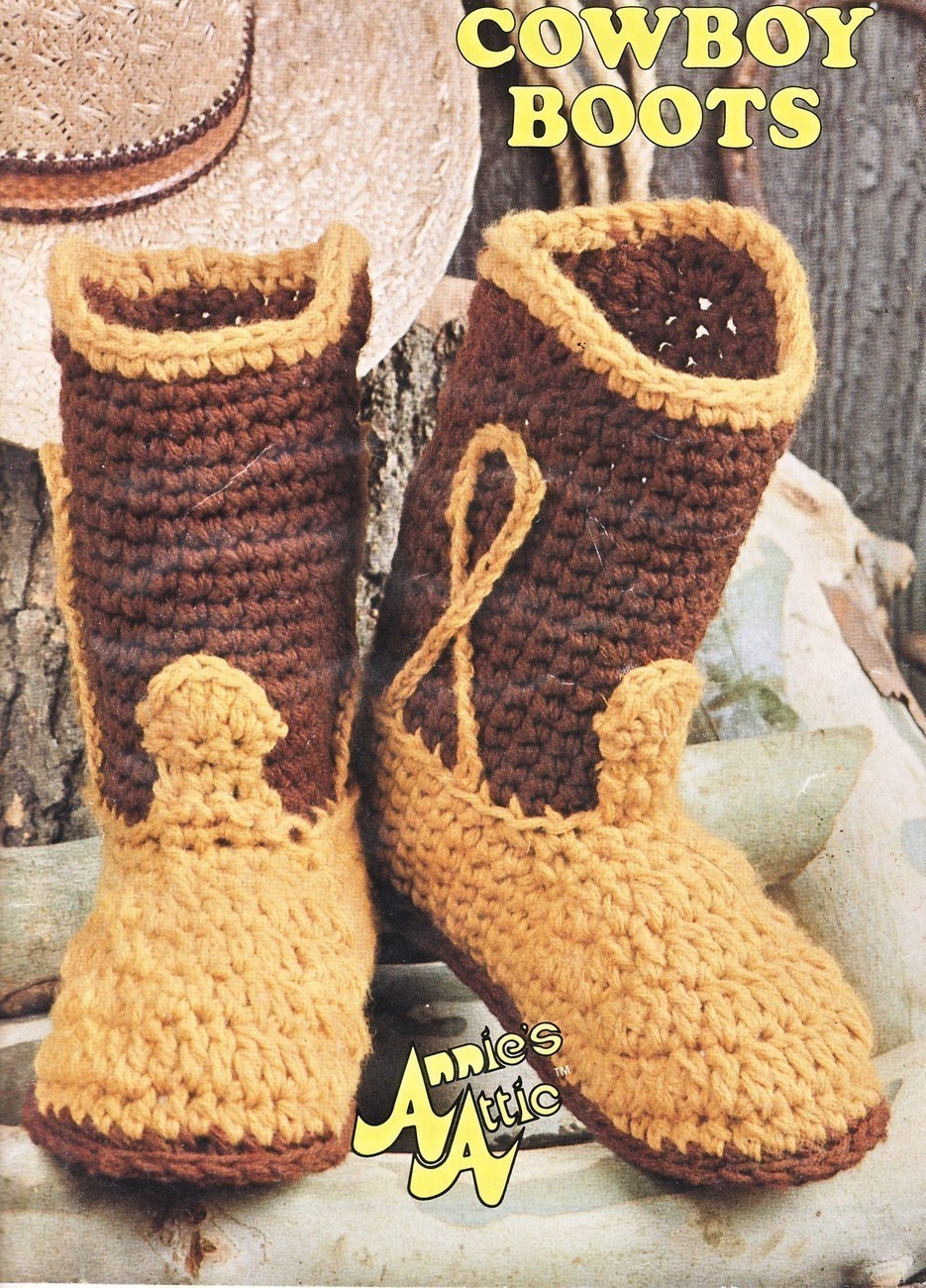 Crochet Cowboy Boots Unique Big Foot Boutique Cowboy Boots Crochet Pattern 7 Sizes Of Marvelous 49 Pictures Crochet Cowboy Boots