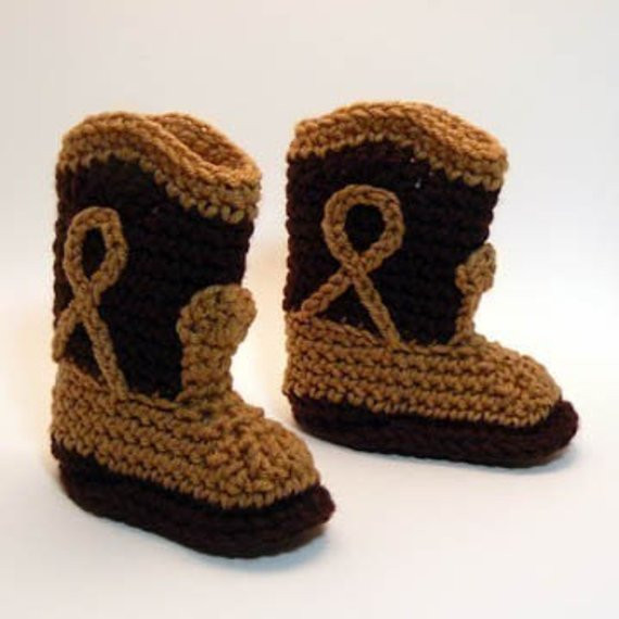 Crochet Cowboy Boots Unique Crochet Cowboy Boot Booties Pattern Of Marvelous 49 Pictures Crochet Cowboy Boots