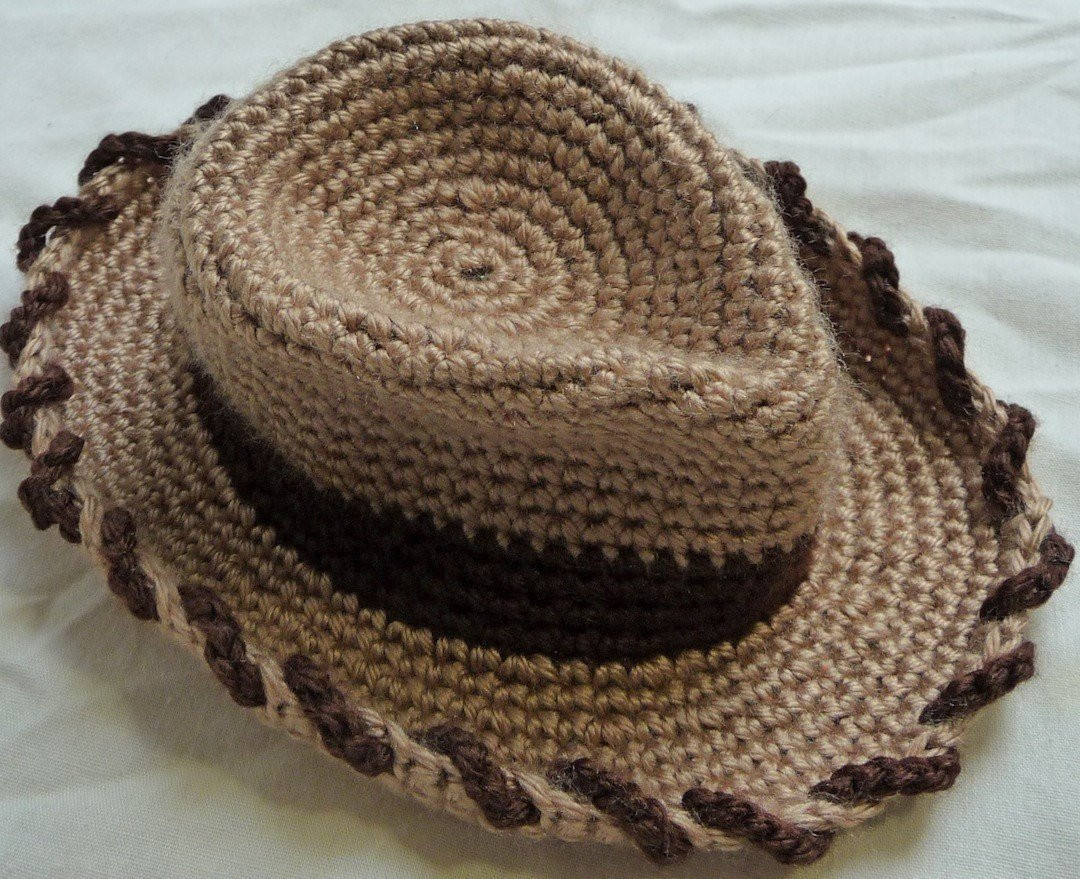 Crochet Cowboy Hat Similar to Sheriff Woody from Toy Story
