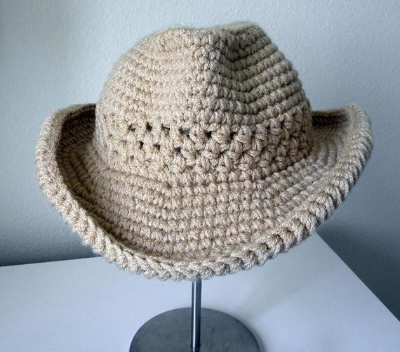 Crochet Cowboy Hat Lovely You Have to See Cowboy Hat Crochet Pattern by Smeckybits Of Unique 41 Ideas Crochet Cowboy Hat