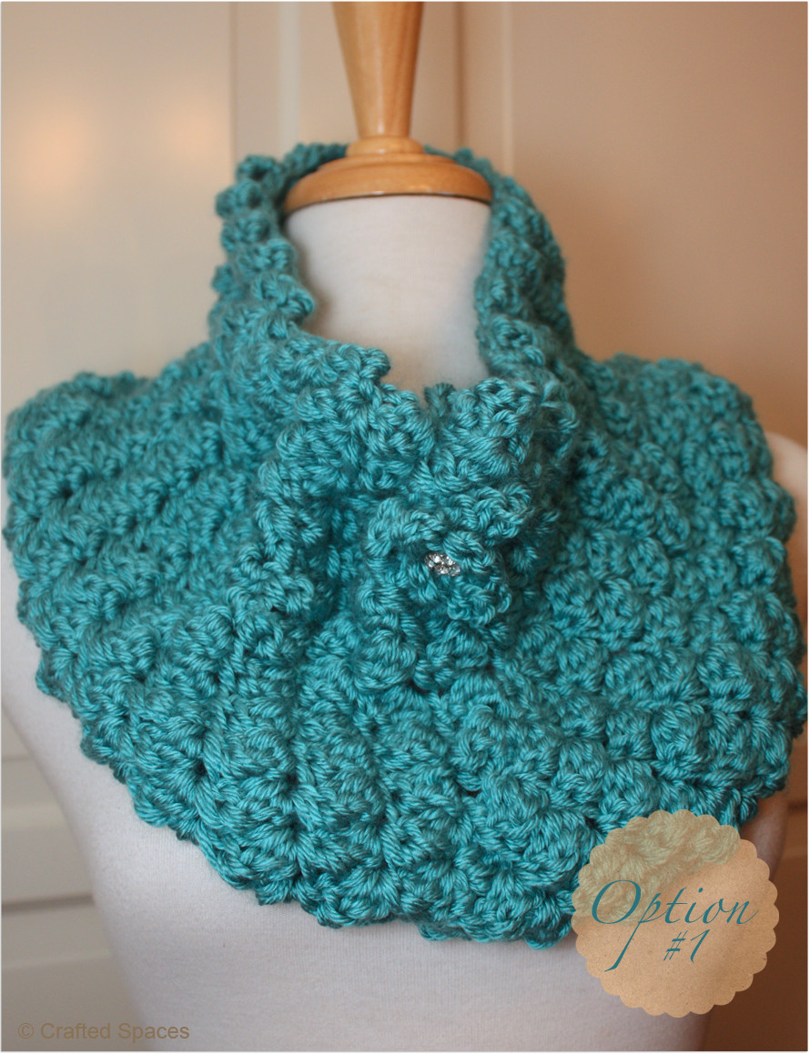 Crochet Cowl Awesome Crafted Spaces Crochet Cowl with Two Strands Yarn Of Adorable 50 Ideas Crochet Cowl