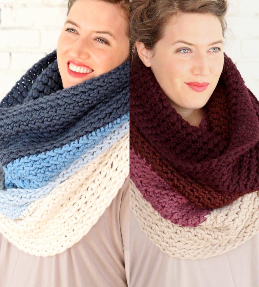 Crochet Cowl Scarf Best Of Ombre Crochet Cowl Scarf Women S Accessories Of Awesome 42 Pics Crochet Cowl Scarf