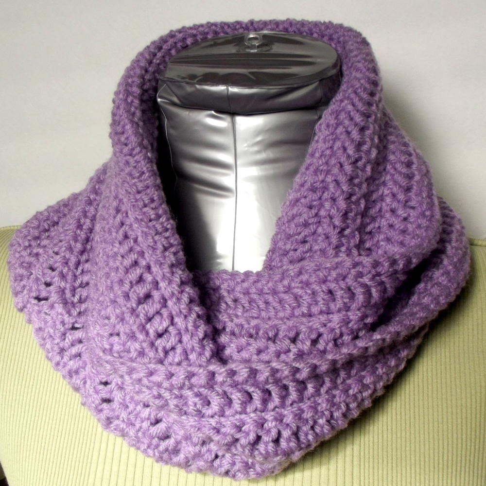 Crochet Cowl Scarf Fresh Quick and Easy Infinity Cowl Of Awesome 42 Pics Crochet Cowl Scarf