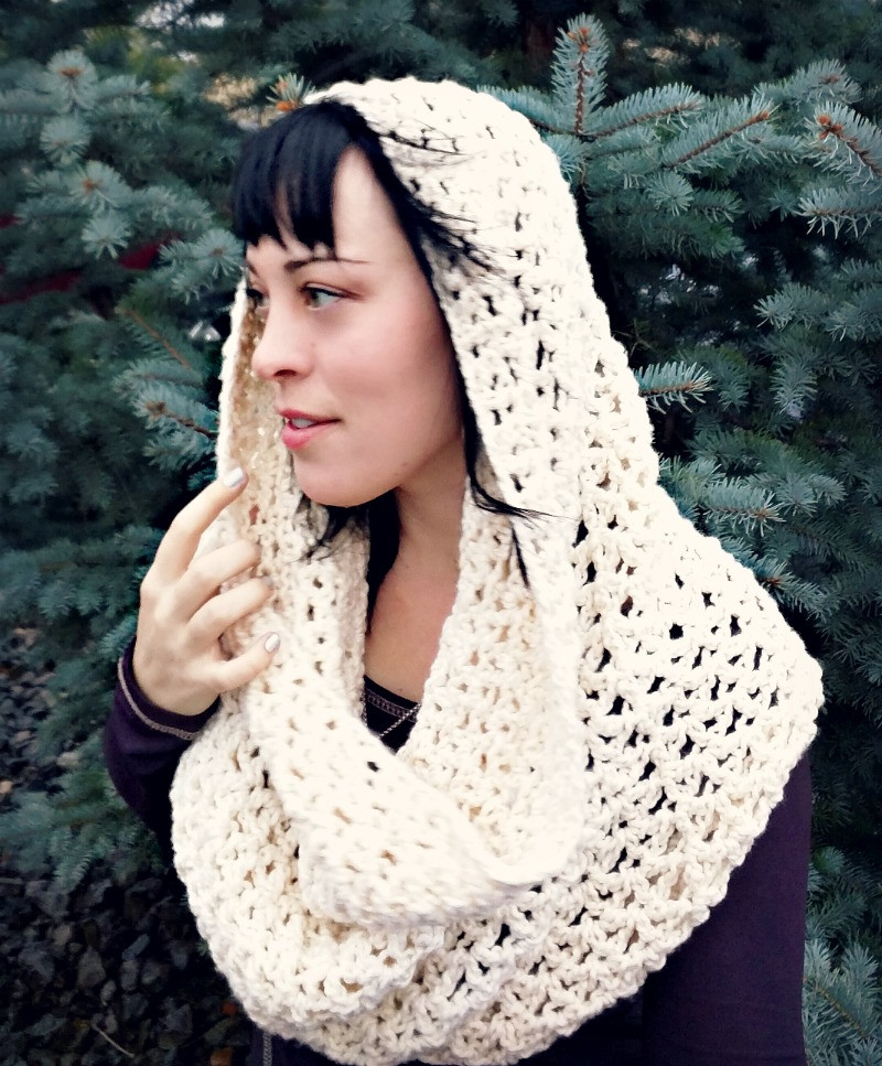 Crochet Cowl Scarf New Domestic Bliss Squared Chunky Infinity Cowl Scarf Free Of Awesome 42 Pics Crochet Cowl Scarf
