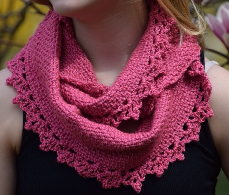 Crochet Cowls Awesome Rose Lace Crochet Cowl Pattern Of Perfect 45 Photos Crochet Cowls
