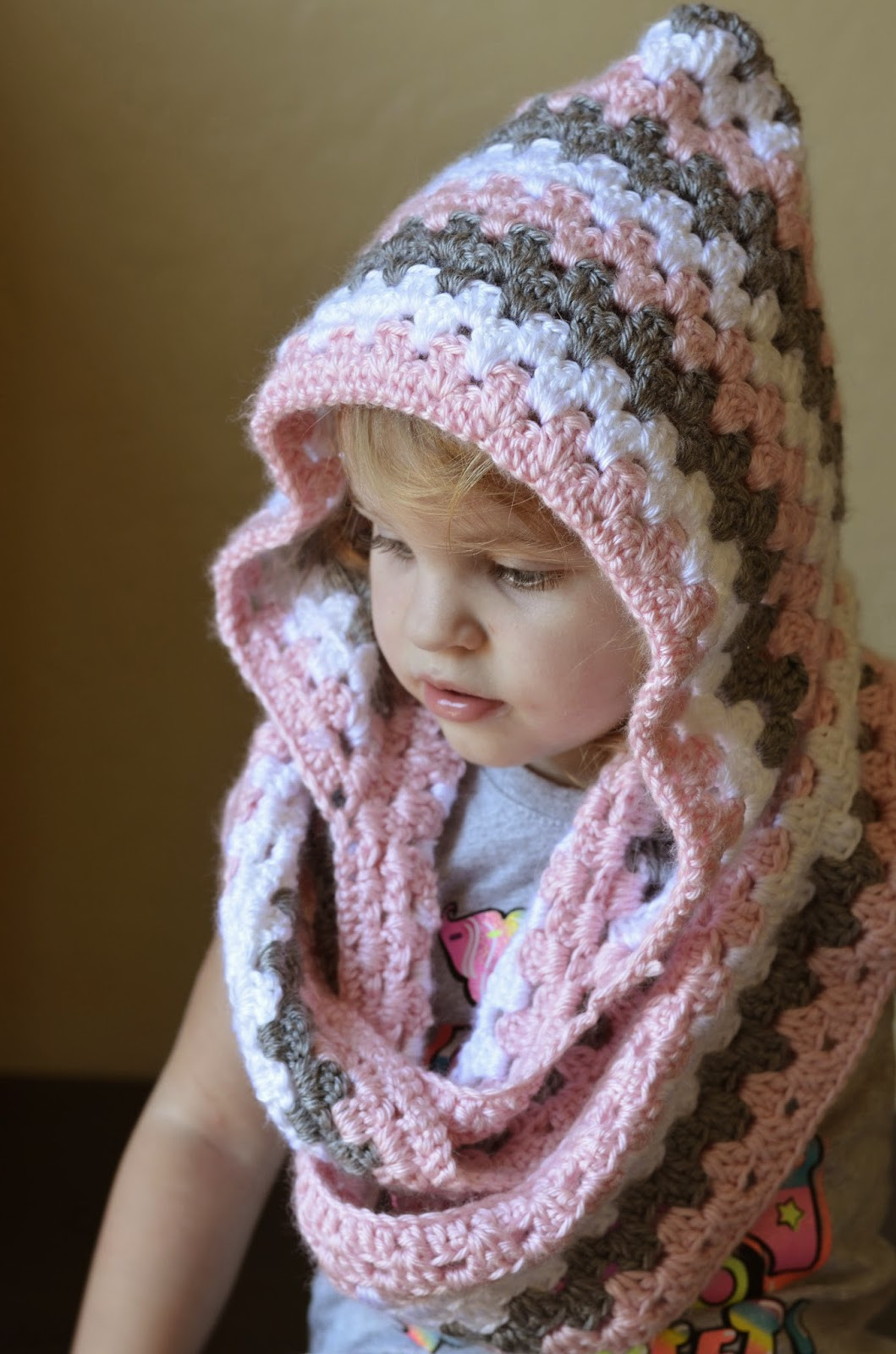 Crochet Cowls Luxury Everyday Everett S toddler Girl S Hooded Cowl Of Perfect 45 Photos Crochet Cowls